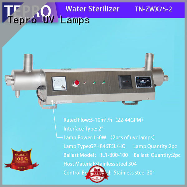 Tepro bactericidal uv water filter system types for reptiles