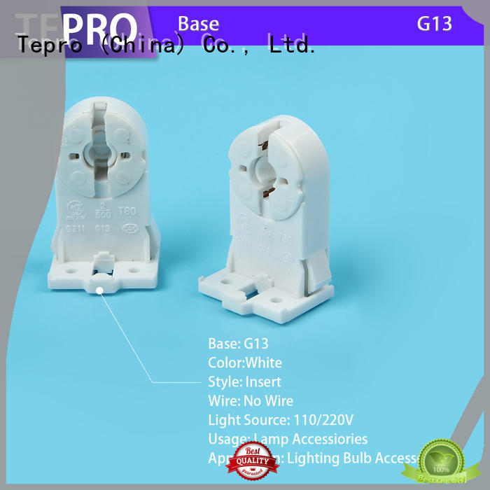 lamp holder parts parameter for well water