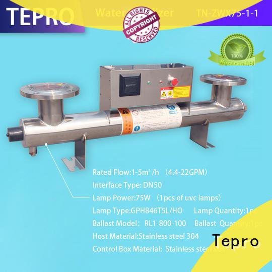 Tepro standard ultra violet tube manufacturer for fish tank