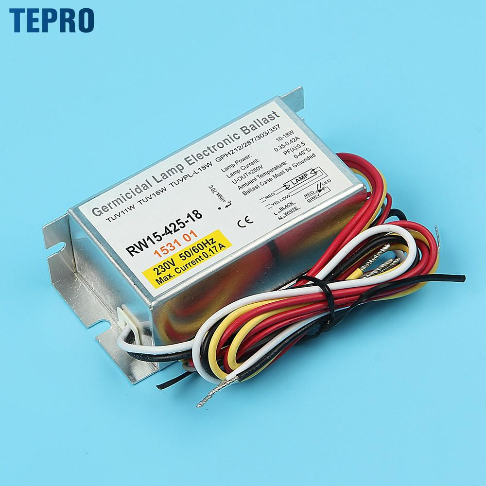 Tepro uv lamp electronic ballast model for factory-1