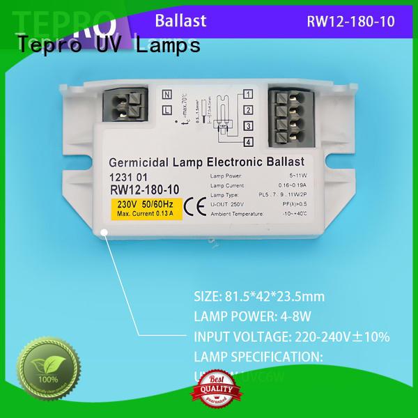 standard uv lamp ballast function for fish tank