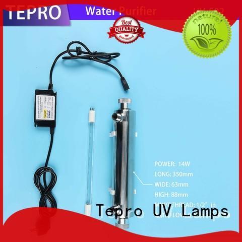 Tepro standard uv sterilizer aquarium design for fish tank