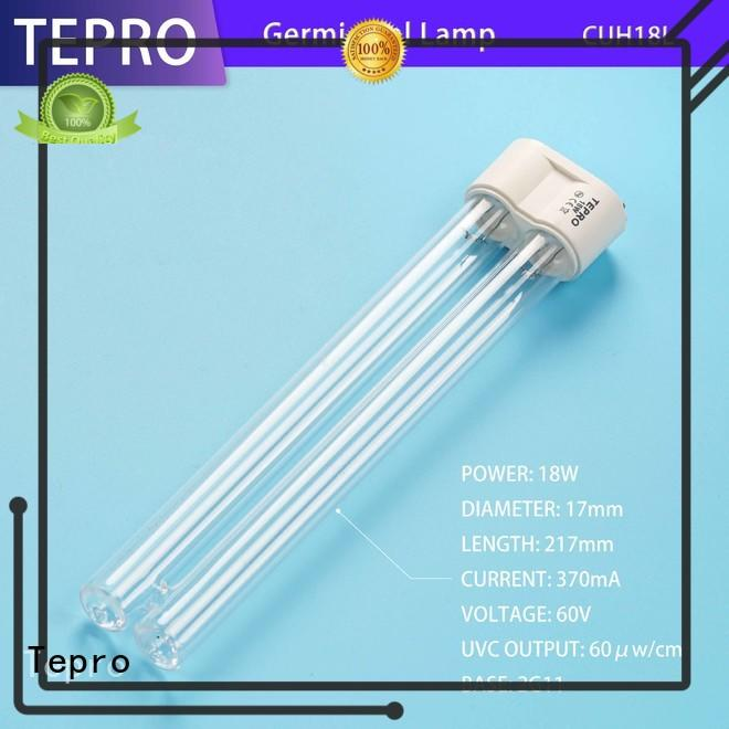 Tepro 17mm uvc bulb manufacturer for hospital
