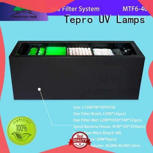 Tepro fish tank filter function for pools
