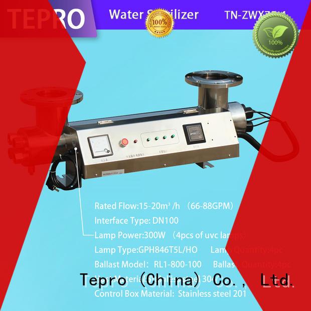 professional uv tube light 800l manufacturer for pools
