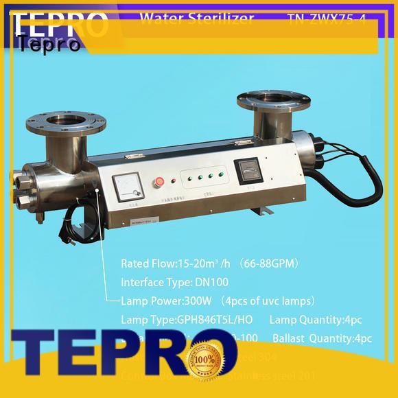 Tepro uv light for well factory