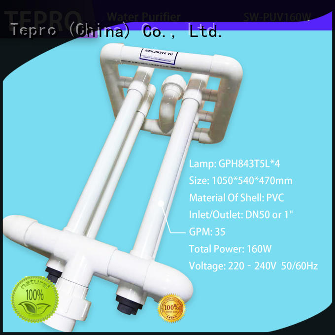 Tepro ro uv water purifier factory for fish tank