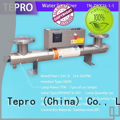 Tepro standard uv water filtration manufacturer for reptiles