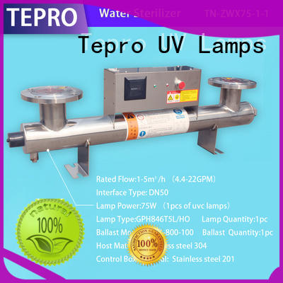 Tepro 17w uv light for air conditioner design for hospital
