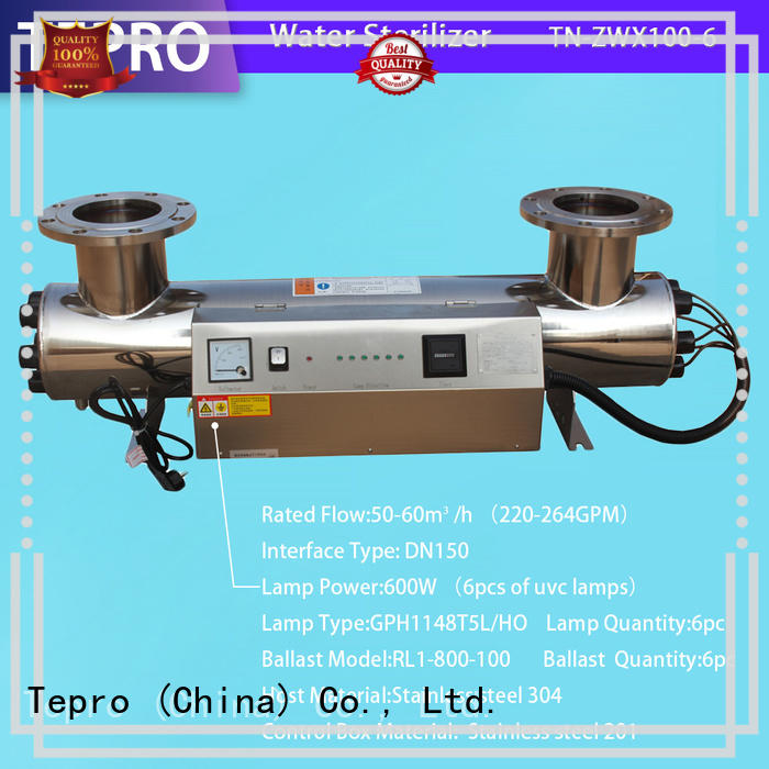 Tepro compact portable uv lamp supplier for fish tank