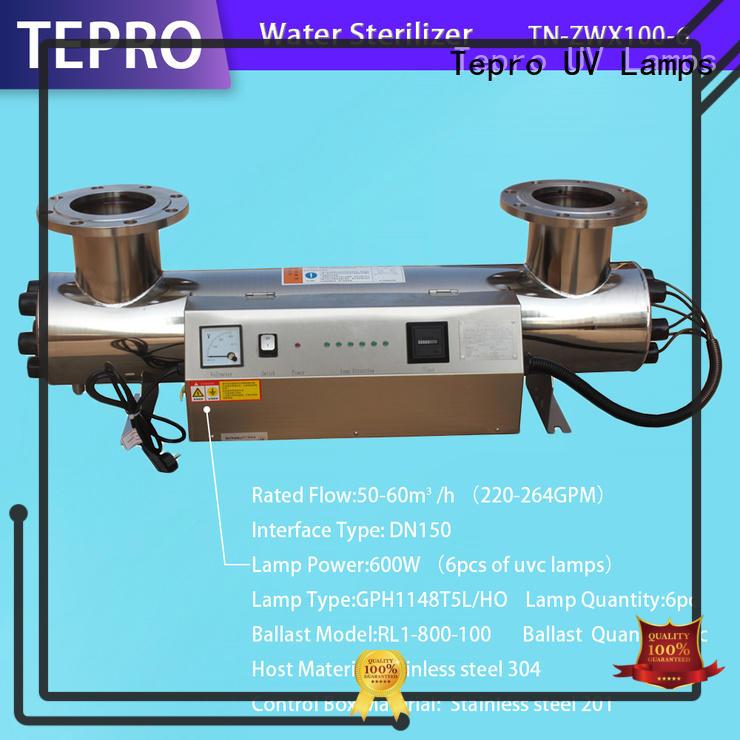 submersible sterilizing light stainless steel design for hospital
