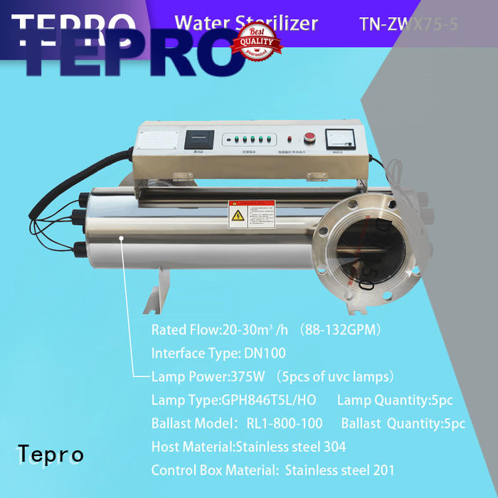 bactericidal uv disinfection lamp h shape supplier for pools