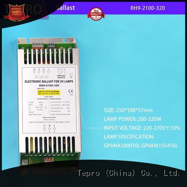 Tepro uv lamp ballast circuit system for plants