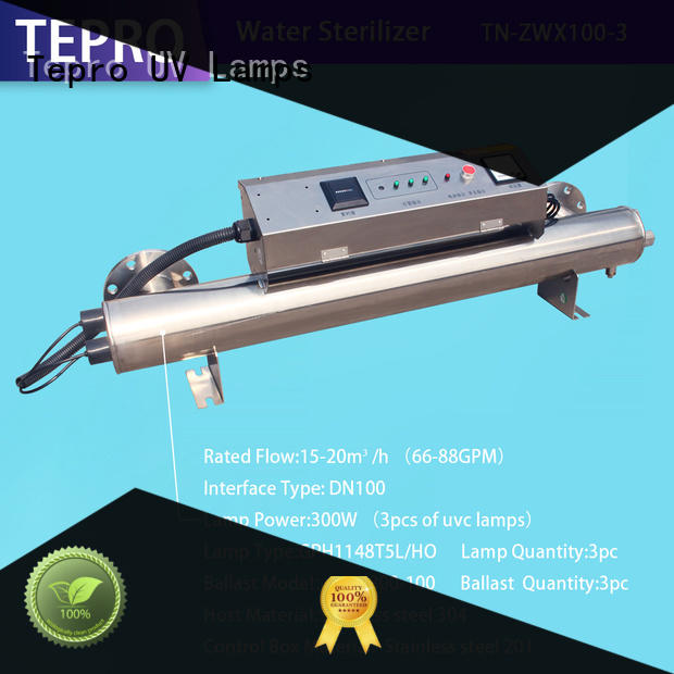 Tepro professional uv light water purifier customized for hospital