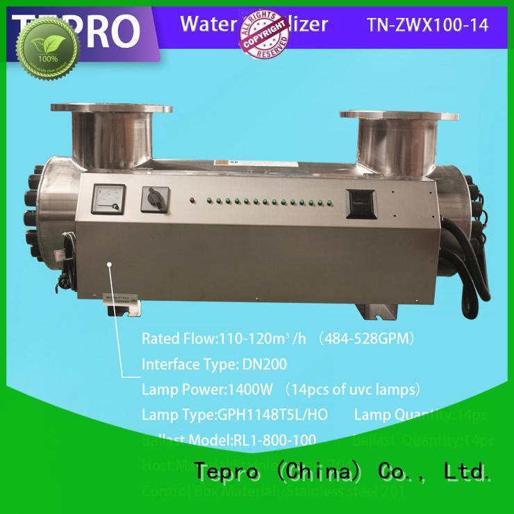 Tepro ultraviolet light water purifier factory