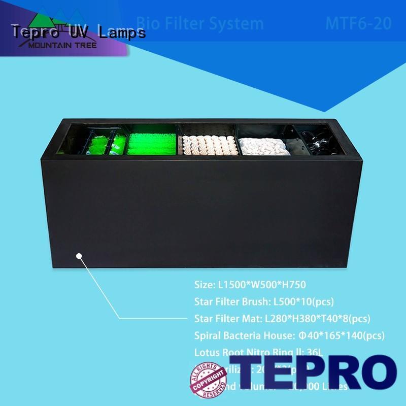 Tepro bio filter system manufacturer for pools