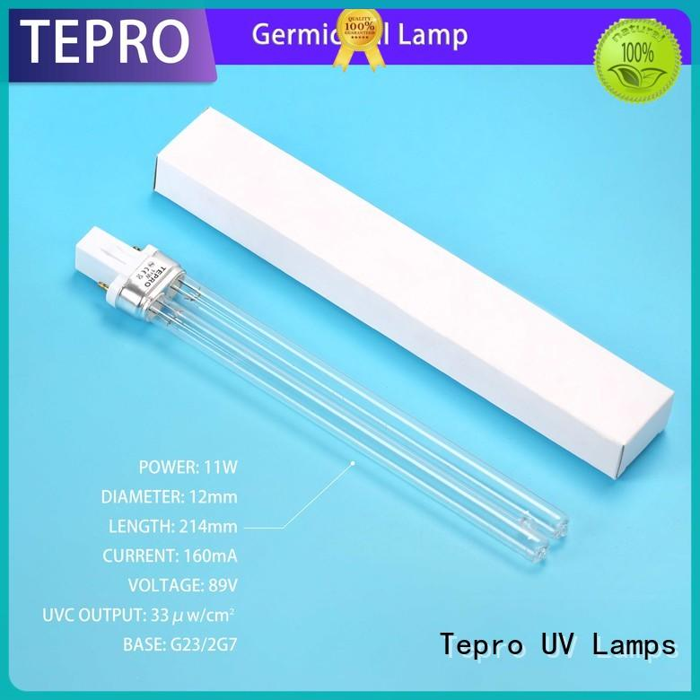 Tepro submersible uv light water purifier customized for pools