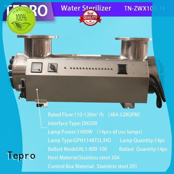 Tepro bactericidal ultraviolet light water purifier supplier for fish tank