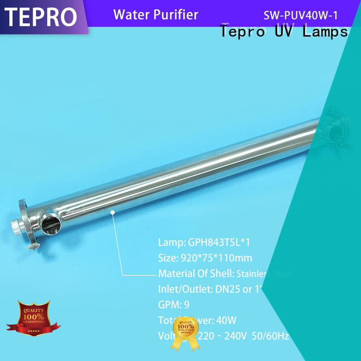 Tepro uv water filter supply for aquarium