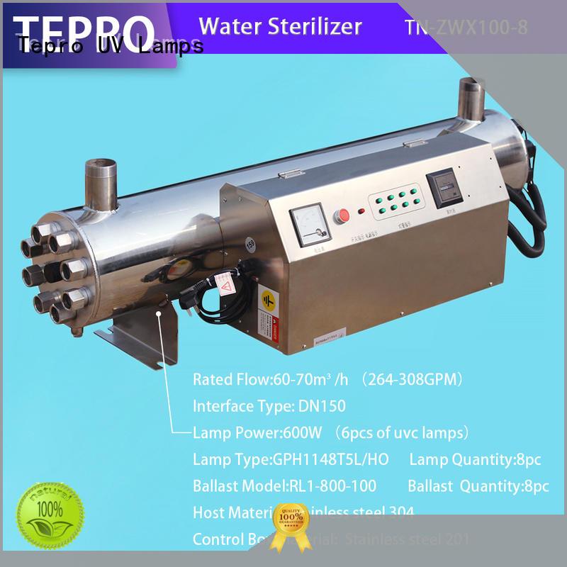 Tepro double end submersible uv light customized for aquarium