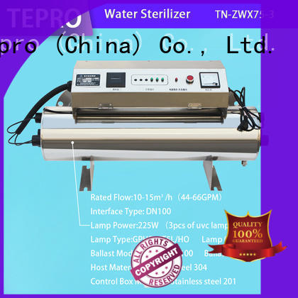 conventional uv light for well supplier for pools