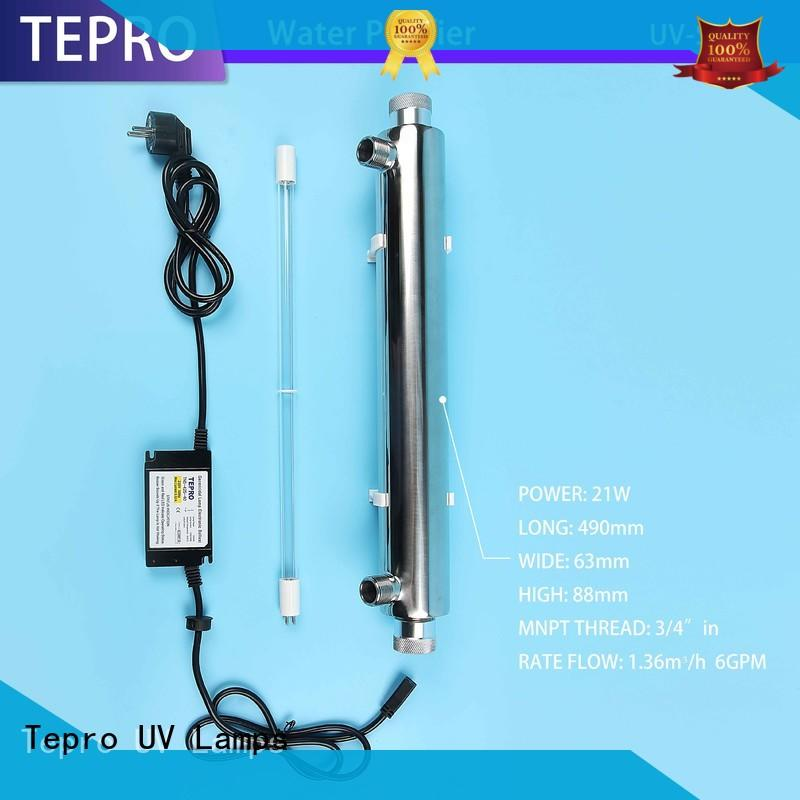 Tepro uv water purifier system for pools