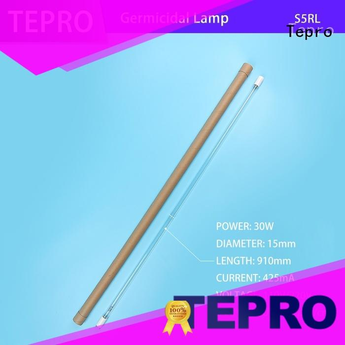 Tepro straight pipe ultraviolet light bulbs customized for plants
