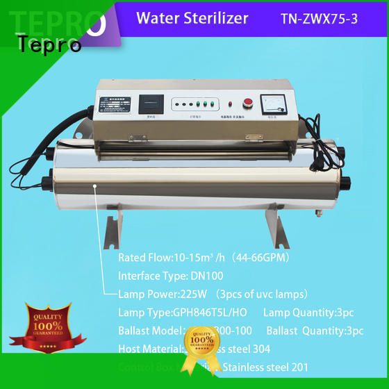 Tepro 800l portable uv lamp manufacturer for hospital