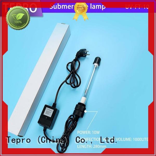 Tepro standard germicidal uv light manufacturer for fish tank
