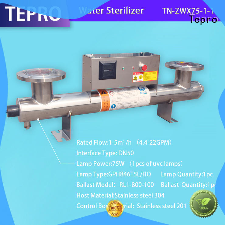 Tepro ultraviolet light water purifier factory for pools