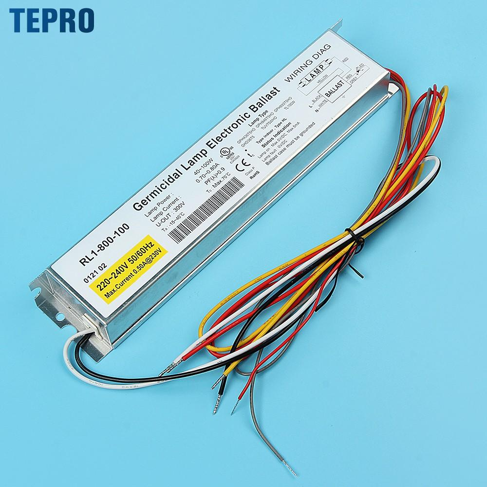 Tepro 4 pins uv disinfection lamp customized for pools-1