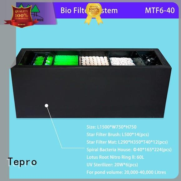 Tepro commerce fish tank filter supply for pools