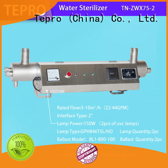 Tepro professional uv light lamp manufacturer for fish tank