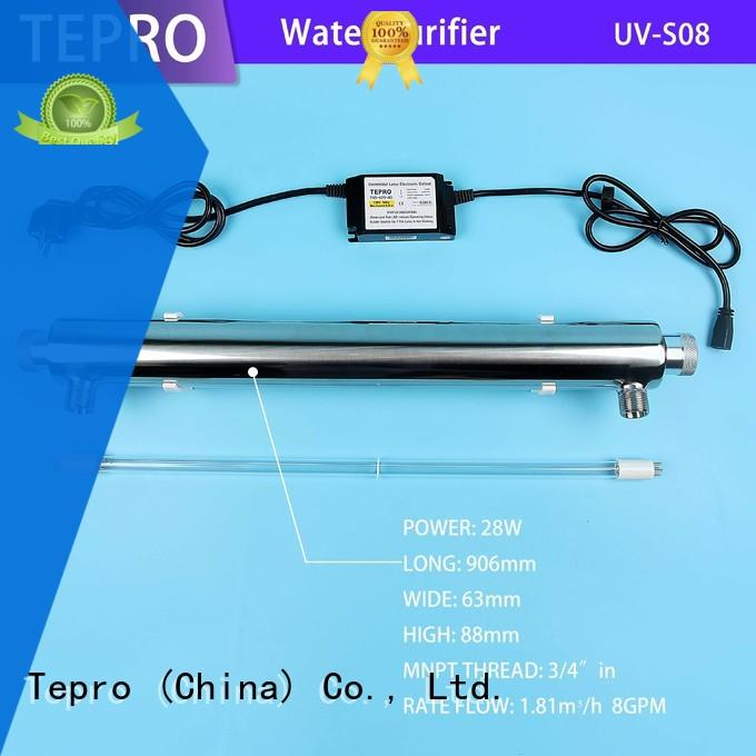 standard uv air purifier double ends supplier for fish tank