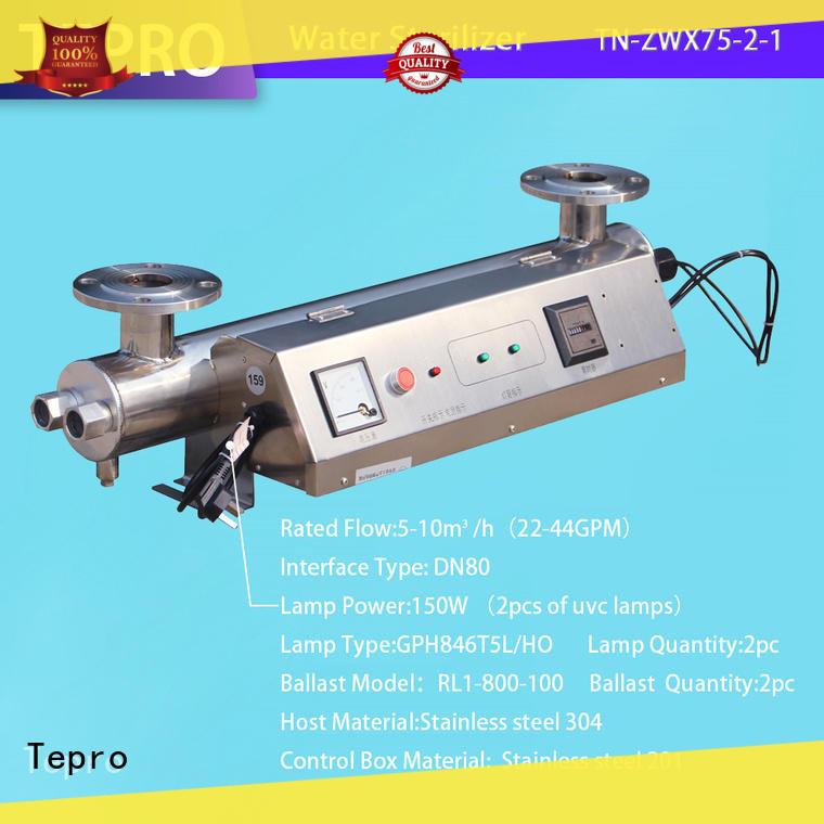 Tepro 212mm uv air filter manufacturer for hospital