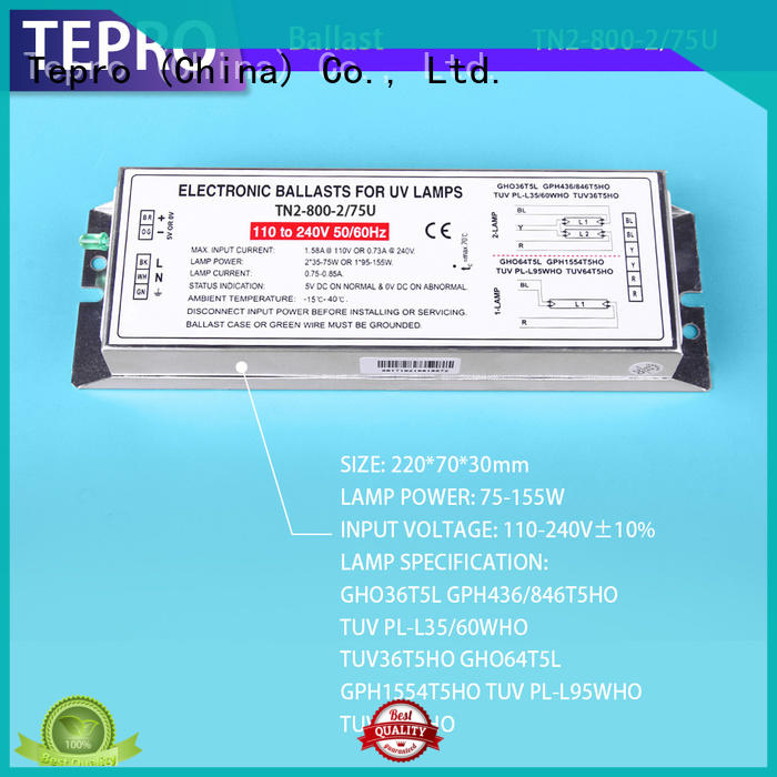 Tepro best uvc ballast factory for laboratory