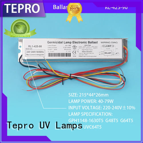 Tepro fluorescent ballast system for laboratory