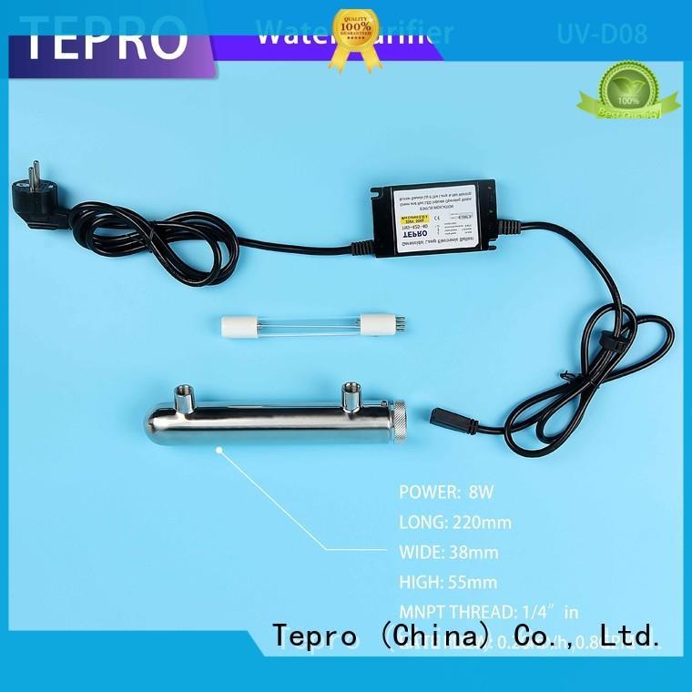 Tepro uv water treatment supply for fish tank