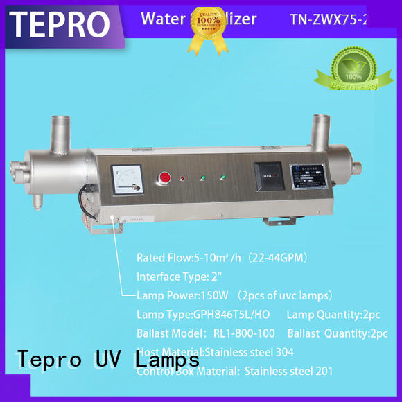 submersible ultraviolet light water purifier double end customized for pools