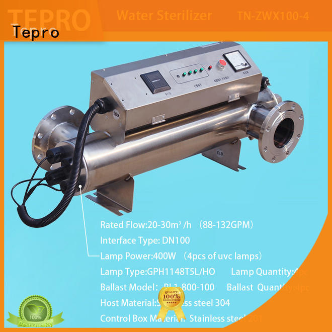 Tepro 800l uv antibacterial light supplier for pools