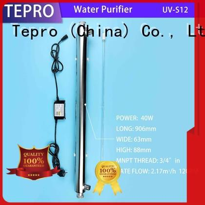 Tepro double ends uv sterilizer customized for hospital
