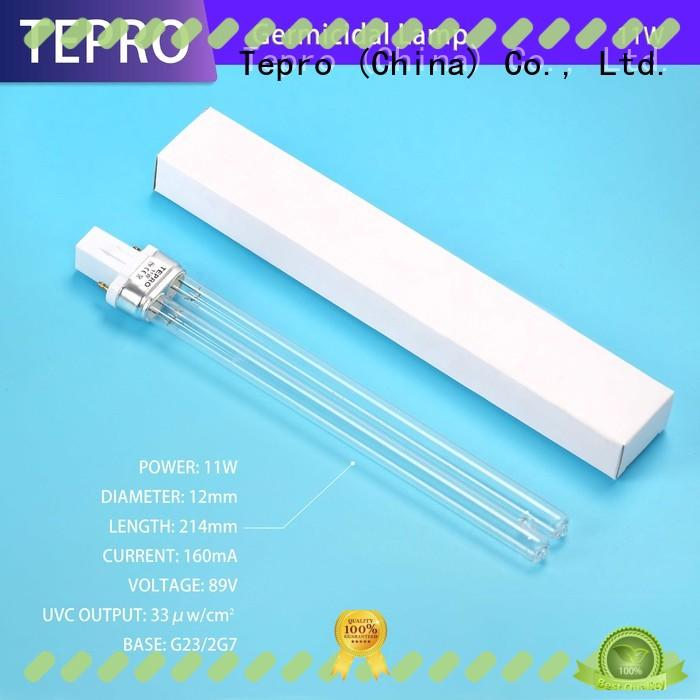 professional uv c light bulb double end manufacturer for fish tank