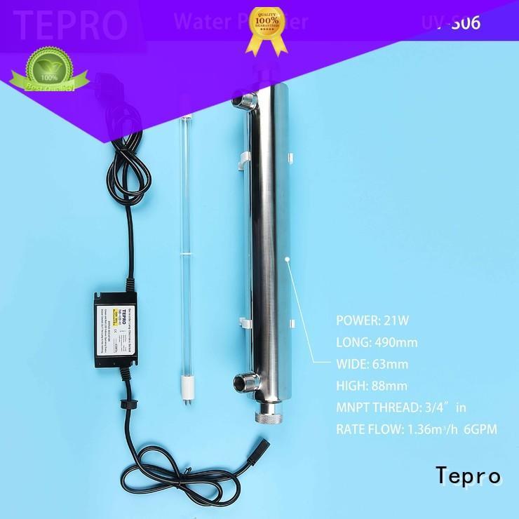 Tepro double end uv sterilizer design for pools