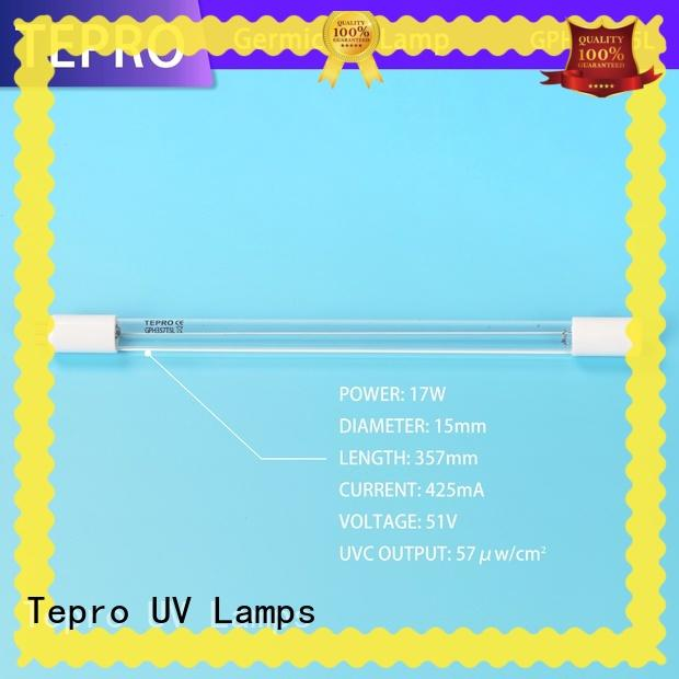 Tepro professional ultra violet tube customized for pools