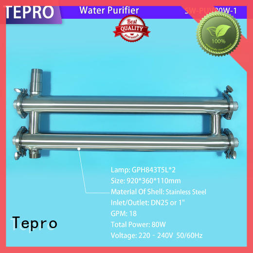 Tepro uv water filter supplier for pools
