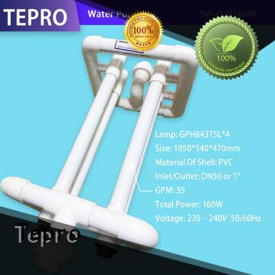 ultraviolet water purifier system for hospital