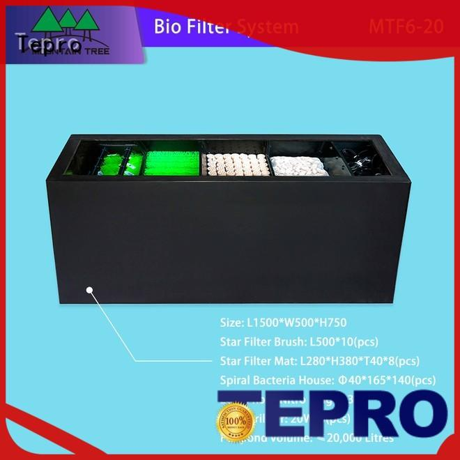 Tepro h shape uv light lamp design for fish tank