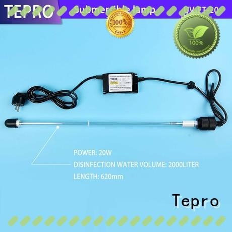 Tepro bactericidal uv light water purifier design for pools