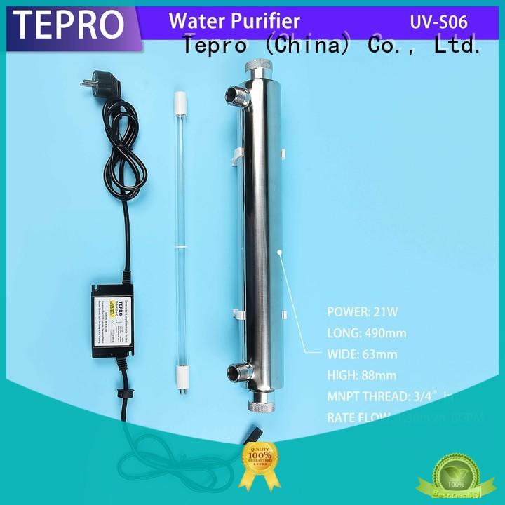 ultraviolet water filter manufacturer for hospital