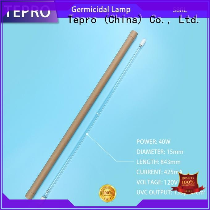 Tepro aluminum uv bulb factory for laboratory